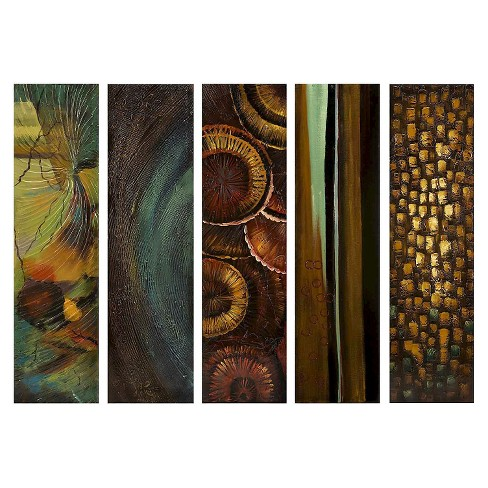 "Aurora Decorative Wall Art Set (7.25 X 37 X 11.25"") - image 1 of 1"
