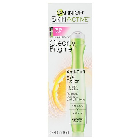 Garnier SkinActive Clearly Brighter Anti-Puff Eye Roller - 0.5 fl oz - image 1 of 5