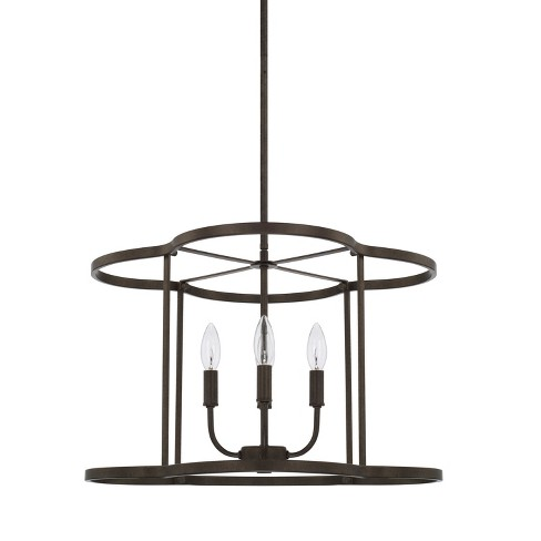 """Capital Lighting 328941 Collier 4 Light 18"""" Wide Taper Candle Pendant - image 1 of 1"""