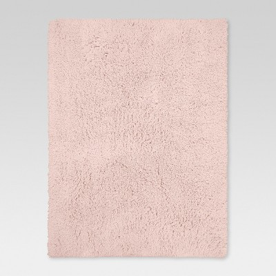 Pink Solid Tufted Washable Area Rug 5'X7'/60 X84  - Room Essentials™