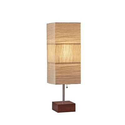 Sahara Table Lamp Steel (Lamp Only)- Adesso