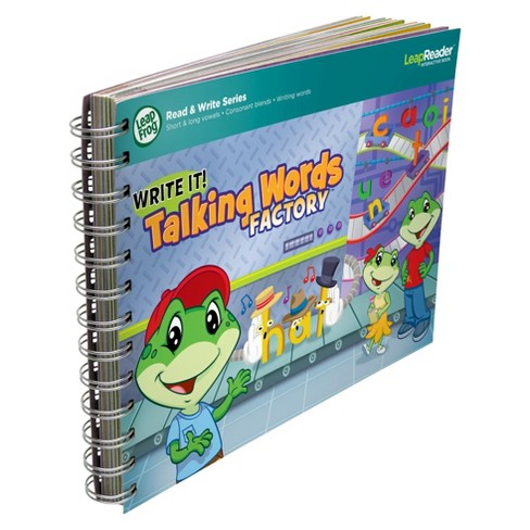 LeapFrog® LeapReader® Writing Workbook: Write it! Talking Words Factory - image 1 of 7