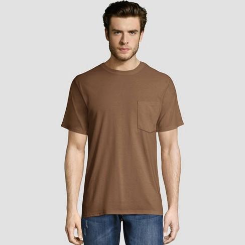 Hanes Men's Short Sleeve Workwear Crew Neck T-Shirt - image 1 of 2