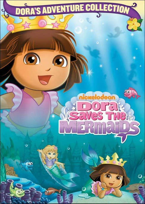 Dora the Explorer: Dora Saves the Mermaids (Dora's Adventure Collection) (dvd_video) - image 1 of 1