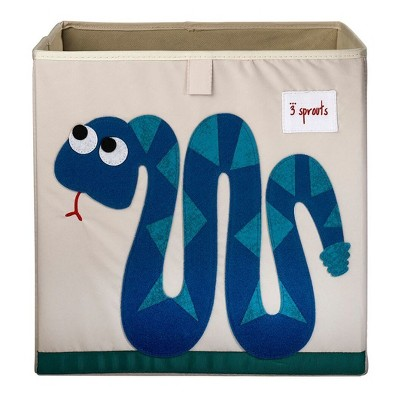Snake Fabric Kids Toy Storage Bin - 3 Sprouts