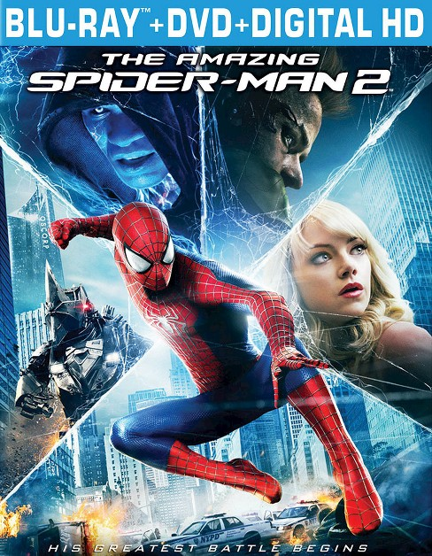 The Amazing Spider-Man 2 (3 Discs) (Includes Digital Copy) (Ultraviolet) (Blu-ray/DVD) - image 1 of 1
