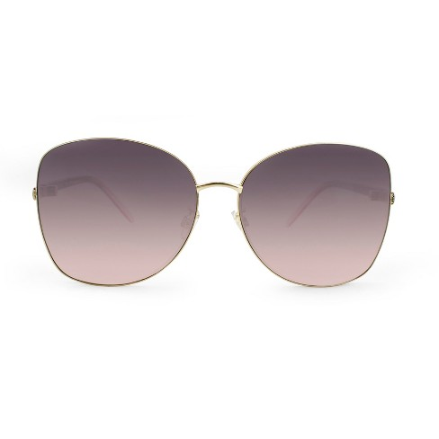 c3277ee0a44 Women s Oversized Aviator Sunglasses - A New Day™ Gold   Target