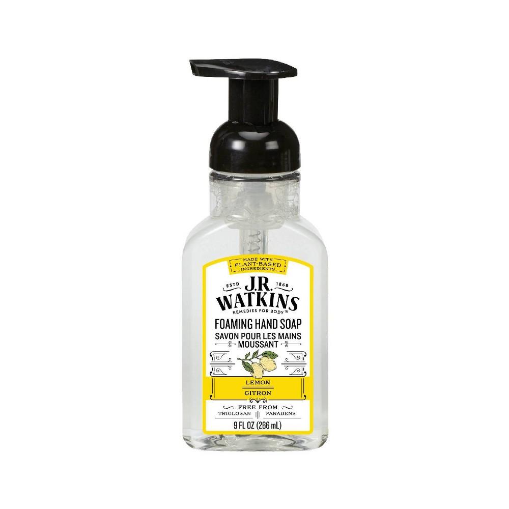J R Watkins Lemon Foaming Hand Soap 9oz
