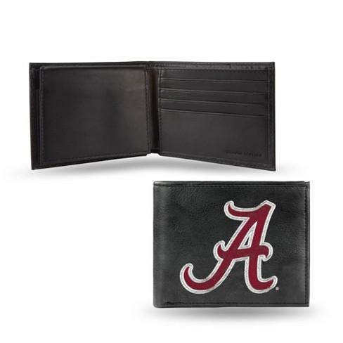 NCAA Alabama Crimson Tide Embroidered Genuine Leather Billfold Wallet - image 1 of 1