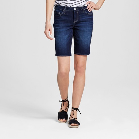 "Women's Logan 10"" Bermuda Jean Shorts - Crafted by Lee® - image 1 of 2"