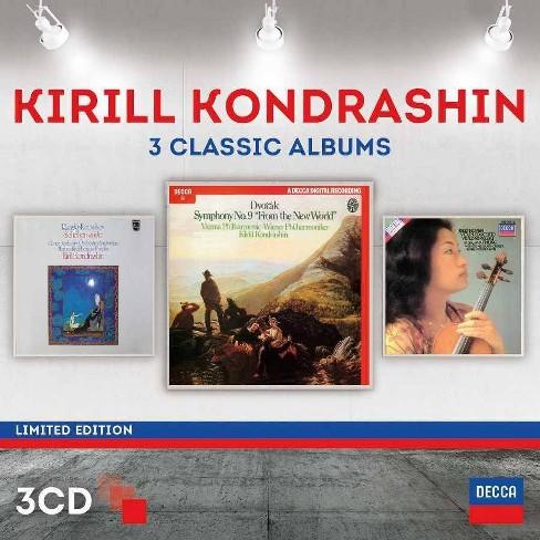 Kirill Kondrashin - Kiril Kondrashin: Three Classic Albums (CD) - image 1 of 1