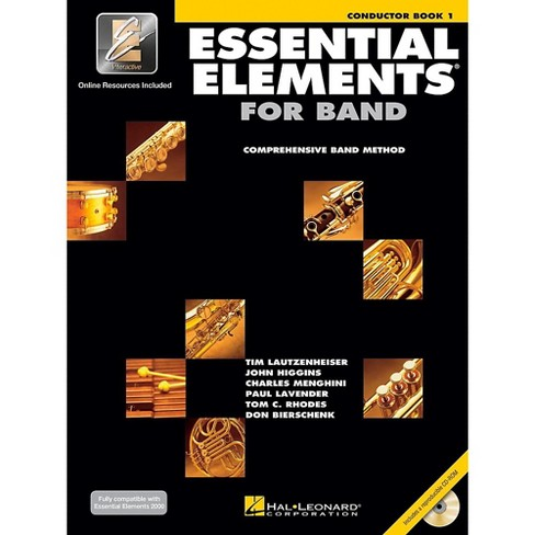Hal Leonard Essential Elements for Band - Conductor Score (Book 1 with EEi and CD-ROM) - image 1 of 1