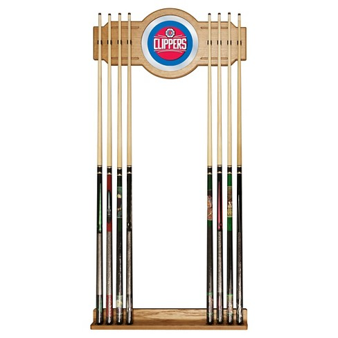 Los Angeles Clippers Billiard Cue Rack with Mirror - image 1 of 1