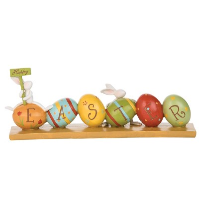 C&F Home Happy Easter Table Sign Decor Figure