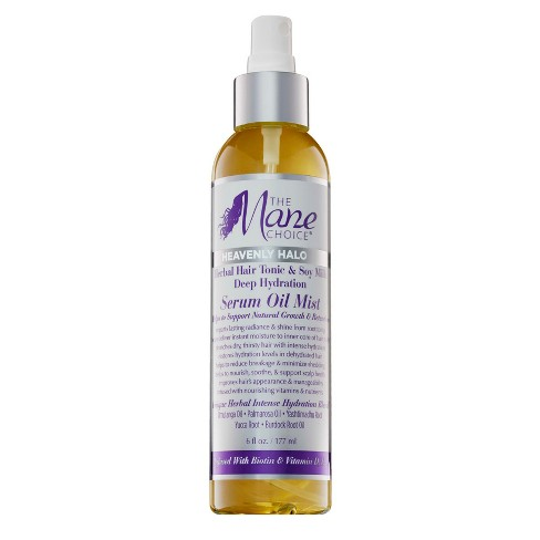 The Mane Choice Heavenly Halo Herbal Hair Tonic & Soy Milk Deep Hydration Serum Oil Mist - 6 fl oz - image 1 of 3