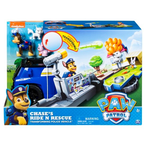 PAW Patrol Chase s Ride  n  Rescue Transforming 2-in-1 Playset And Police  Cruiser   Target 02b44c7232