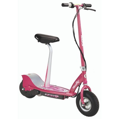 Razor E300S Seated Rear Wheel Drive Electric Powered Scooter - Sweet Pea
