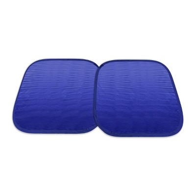 Type S Standard Fashion Reversible Spring Sunshade Blue/Silver