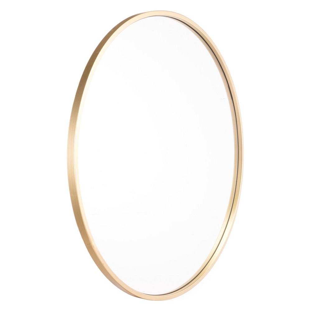 ZM Home 24 Modern Round Mirror Gold