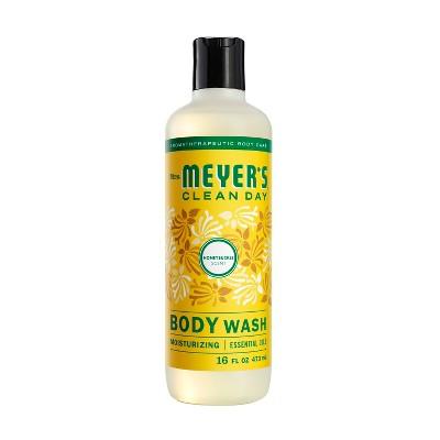 Mrs. Meyer's Clean Day Body Wash Honeysuckle Scent - 16oz Bottle
