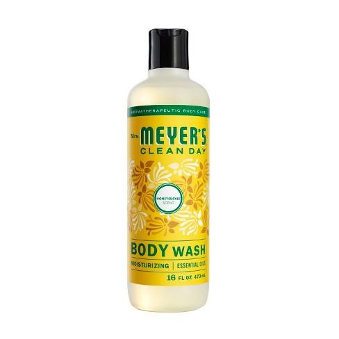 Mrs Meyer S Clean Day Body Wash Honeysuckle Scent 16oz Bottle