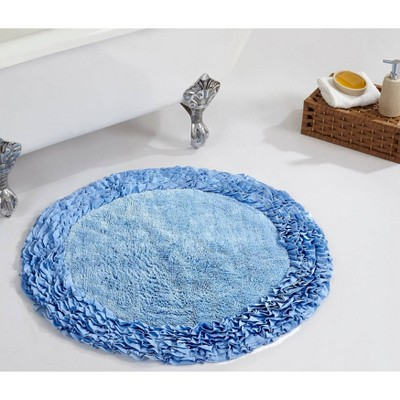 Shaggy Border Collection Bath Rug - Better Trends