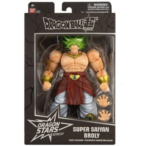 Bandai Dragon Stars Dragon Ball Legendary Super Saiyan Broly Sdcc Exclusive Action Figure Target