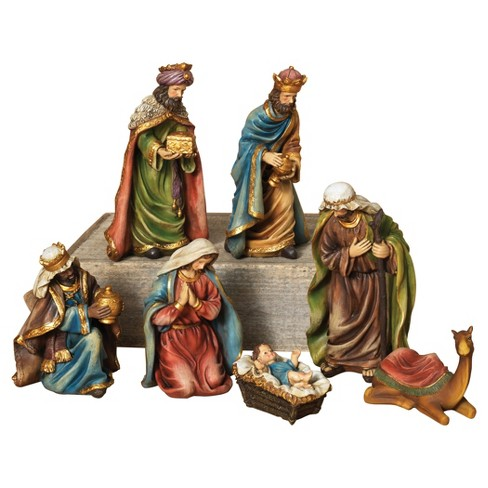 Resin Nativity Set 7ct - Sterling - image 1 of 1