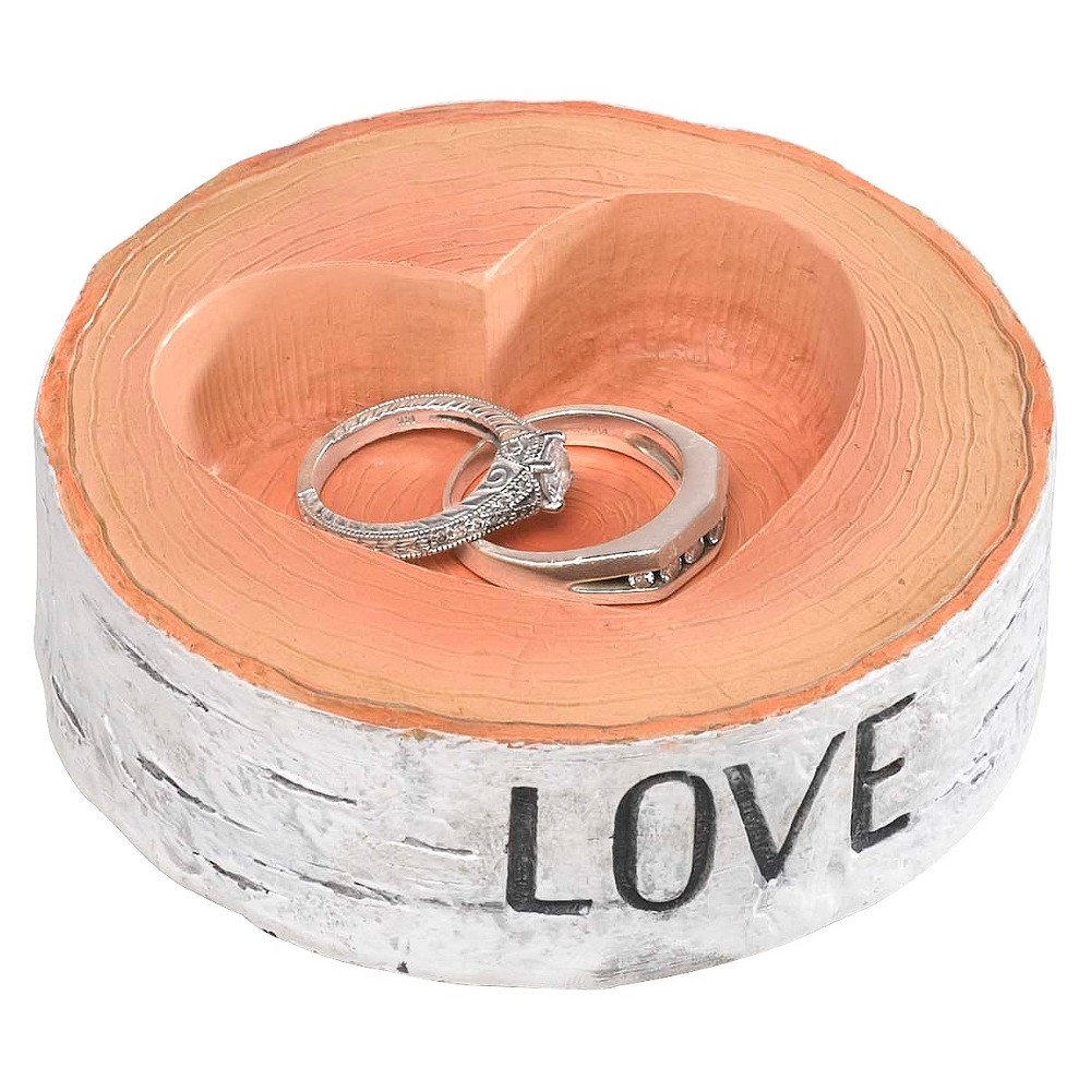 Rustic Love Wedding Collection Ring Bearer Bowl