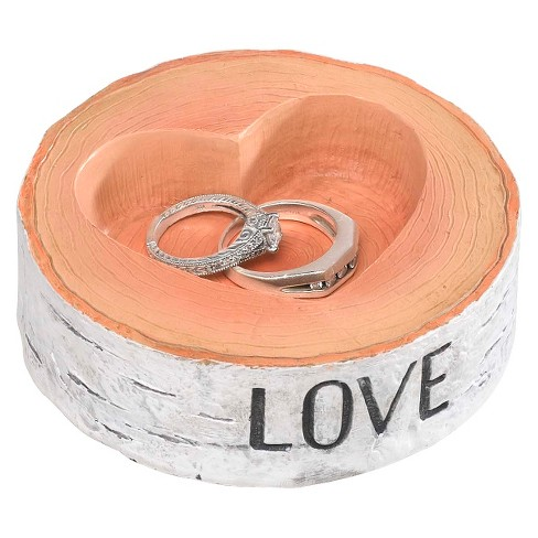 Rustic Love Wedding Collection Ring Bearer Bowl - image 1 of 2
