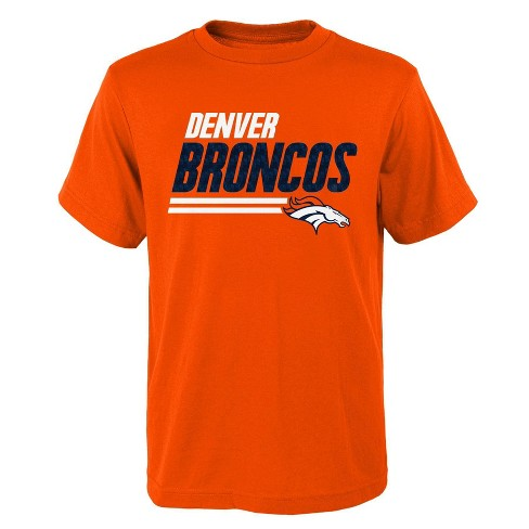 best sneakers 06abf b5c65 NFL Denver Broncos Boys' Great Fan T-Shirt - S