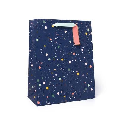 Medium Dotted Gift Bag Blue - Spritz™