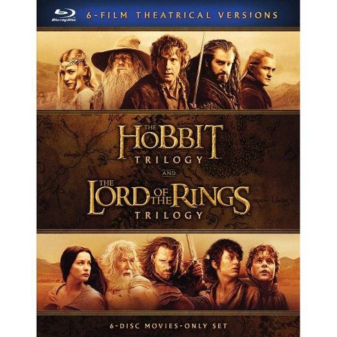 Middle Earth 6-Film Collection (Blu-ray) - image 1 of 1