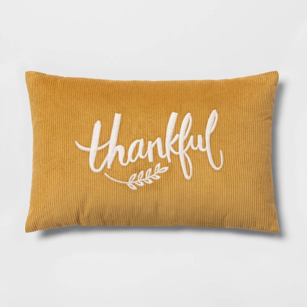 Target Thankful pillow for your fall decore