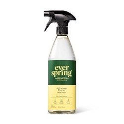 Lemon & Mint All Purpose Cleaner - 28 fl oz - Everspring™