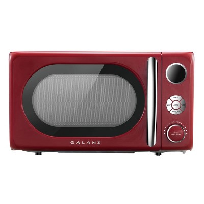 Galanz Retro 0.7 cu ft 700W Countertop Microwave