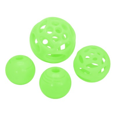Chew King Glow in the Dark Balls Combo Dog Toy Set