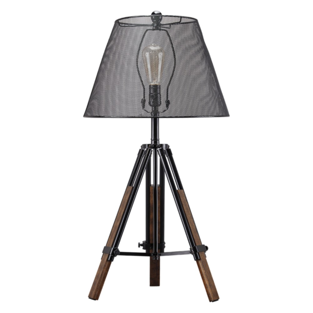 Leolyn Metal Table Lamp Black (Lamp Only) - Signature Design by Ashley