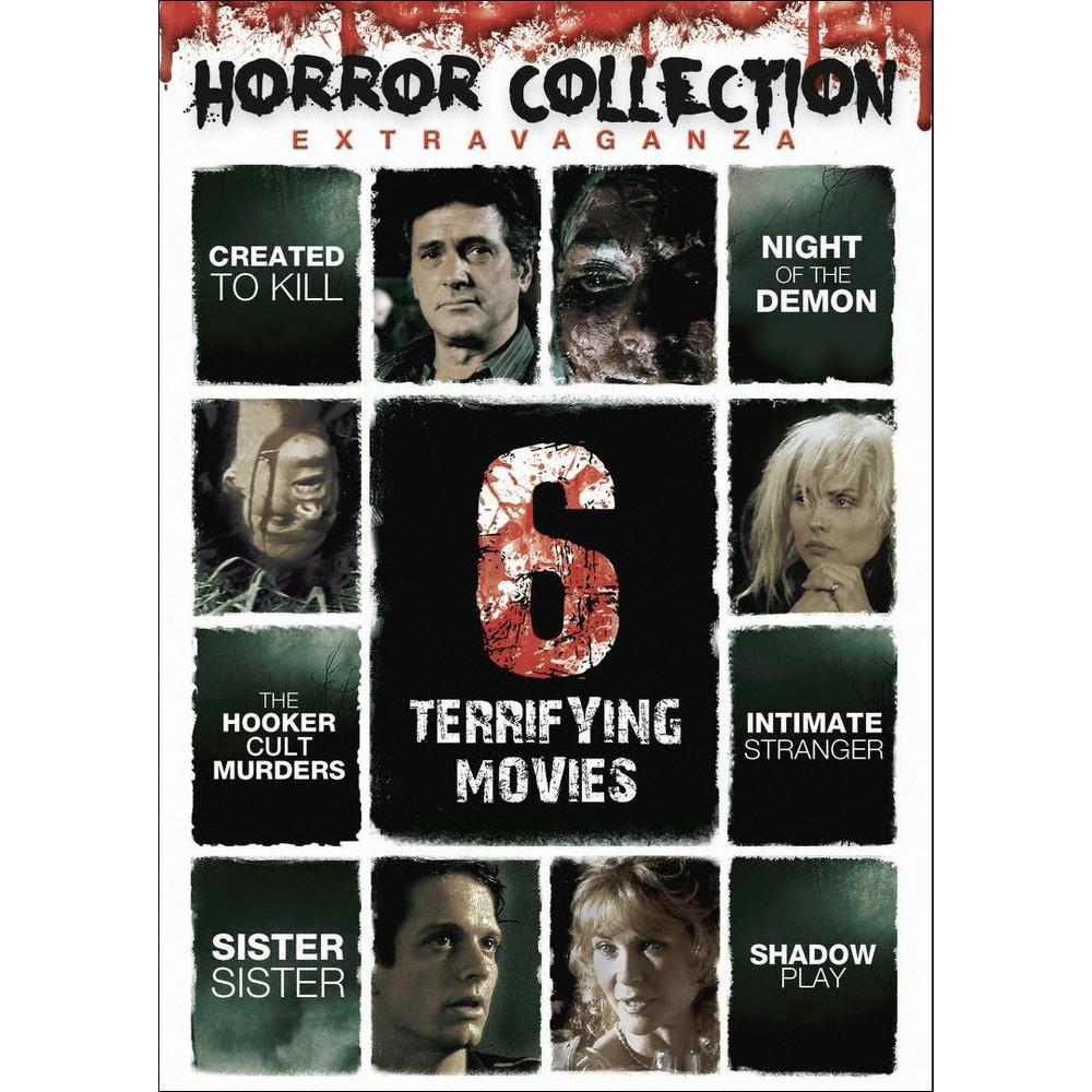 Horror Collection Extravaganza:6 Terr (Dvd)