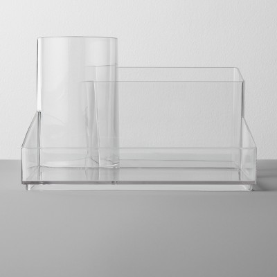 Bathroom Plastic Hair Accessory Organizer Clear - Made By Design™