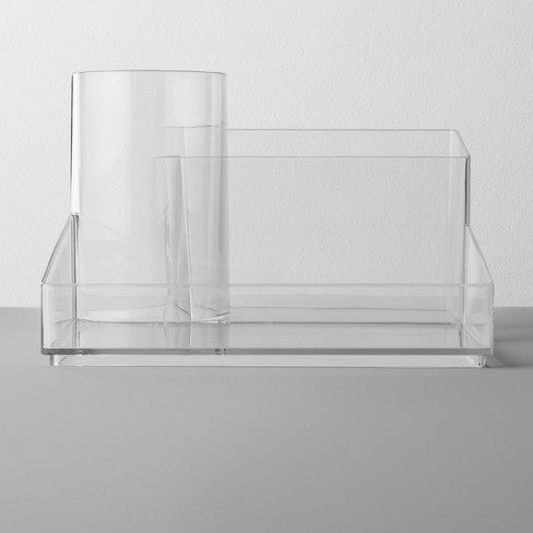 Bathroom Plastic Hair Accessory Organizer Clear - Made By Design™ - image 1 of 3