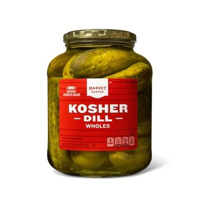 Kosher Dill Whole Pickles - 46oz - Market Pantry™