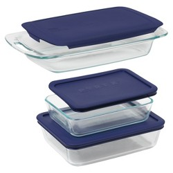 Pyrex 6pc Bake and Store Set