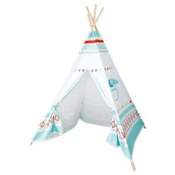 Small Foot Wooden Toys Premium Teepee Play Tent