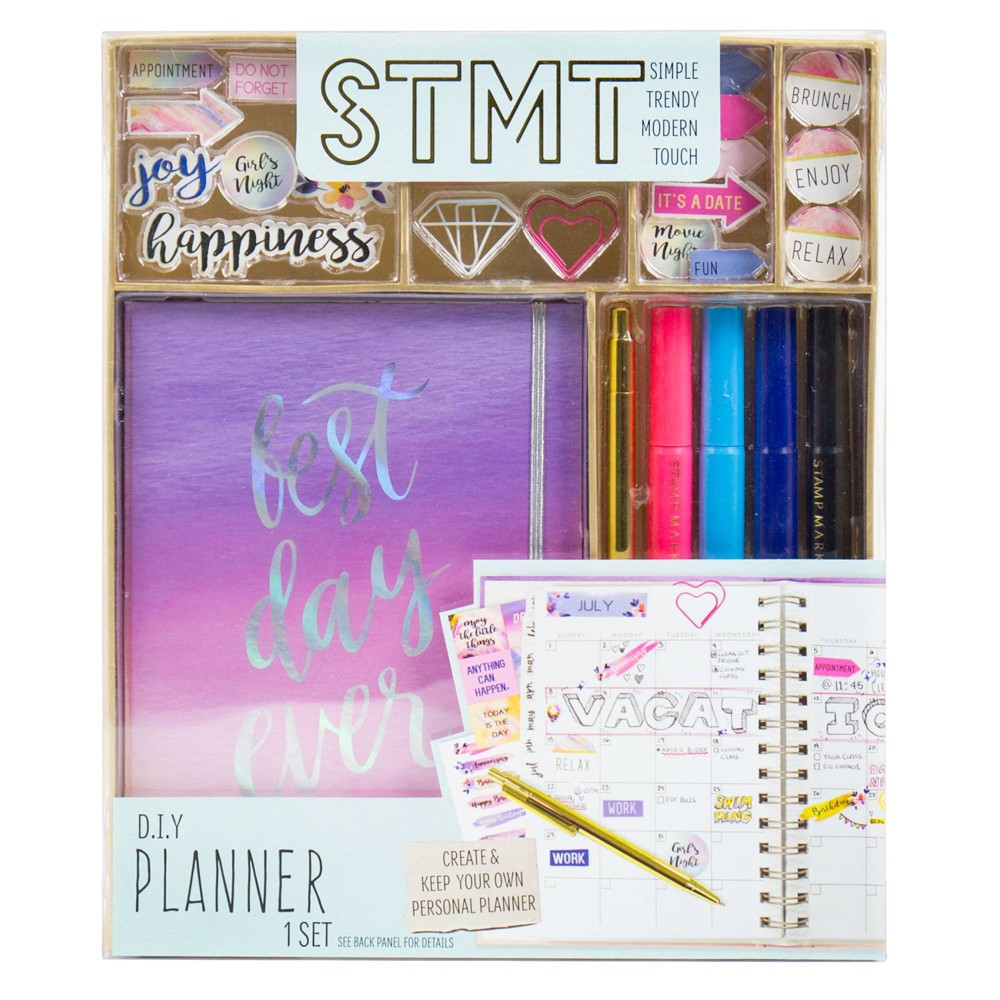 Image of STMT D.I.Y. Planner Set, craft activity kits