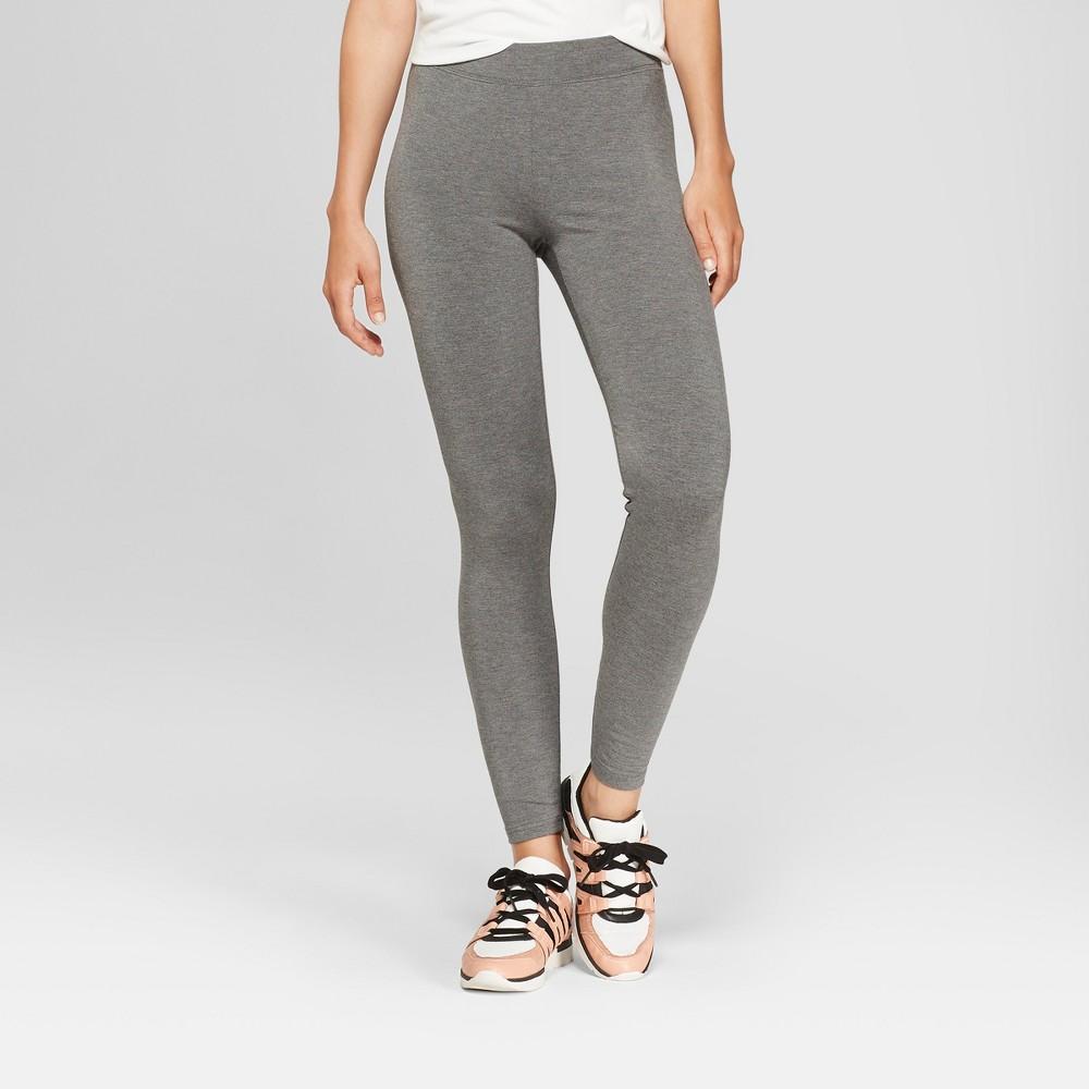Women's Leggings - A New Day Gray L