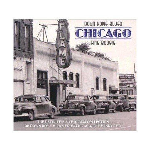 Various - Down Home Blues: Chicago Fine Boogie (CD) - image 1 of 1