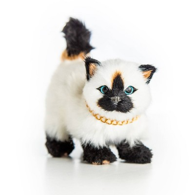 """The Queen's Treasures 18"""" Doll Pet Accessory - Blue Eyed Siamese Kitty Cat"""