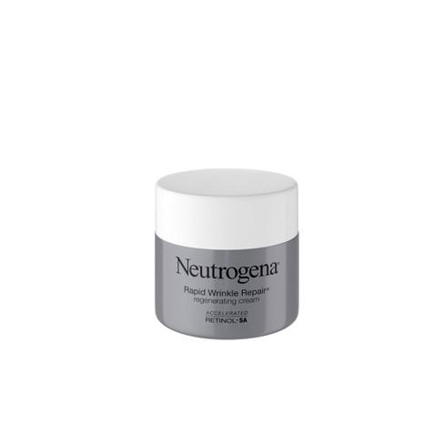 Neutrogena Rapid Wrinkle Repair Hyaluronic Acid & Retinol Cream - 1.7oz - image 1 of 17