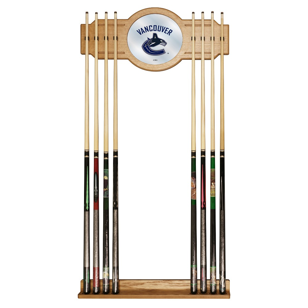 ACE/NORTH HILLS Vancouver Canucks Cue Rack with Mirror